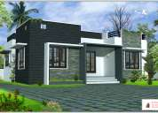 Newly constructed 1000 sqft.villas is in 4 cent