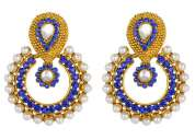 Beautiful designer stylish fashion latest new quality pearl earrings for girls