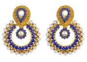 Beautiful designer stylish fashion latest new quality pearl earrings for girls