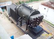 Smoke tube design boilers with 3 passes
