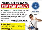 For all safety officers out there, don't you think it is time to take up nebosh? contact us now
