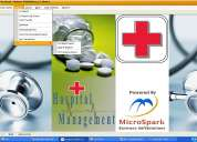 Hospital  software erp with pharmacy management