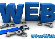 Free dynamic website and domain click on w4u.in