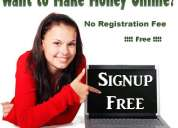 Online & offline home based part time jobs free & without investment anyone can join