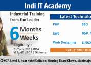 6 weeks industrial training in chandigarh - indi it academy
