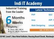 6 weeks industrial training in chandigarh - indi it academy