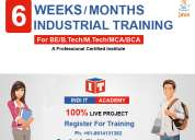 6 months java industrial training in chandigarh