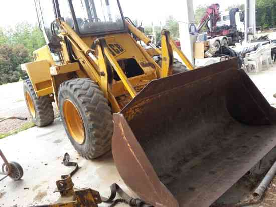 WHEEL LOADER JCB 410
