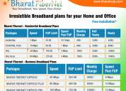Best internet plans and high speed internet | bharat fibernet