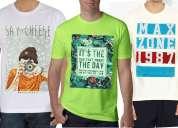 Maxzone round neck t-shirt combo
