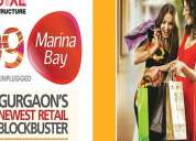 Commercial shops in gurgaon @ 19 lacs - 99 marina bay | 9250404162