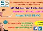 .net mvc training
