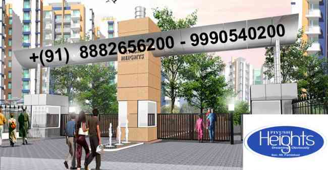 2 bhk flats in piyush heights sector 89 Faridabad