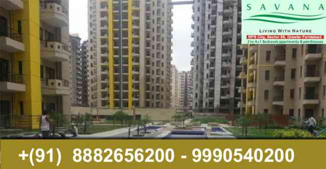 2 Bhk flats in Rps Savana sector 88 faridabad