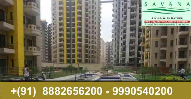 2 Bhk flats in Rps Savana sector 88 faridabad