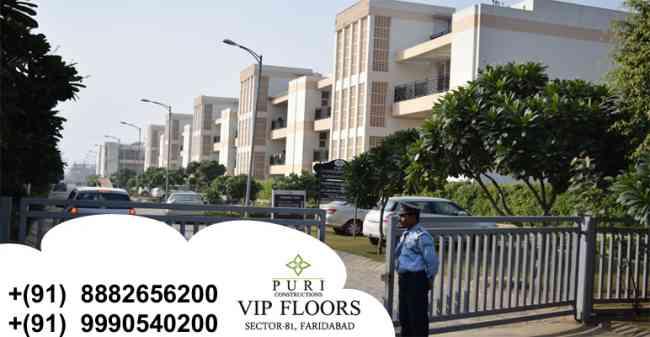 Puri Vip Floors Faridabad