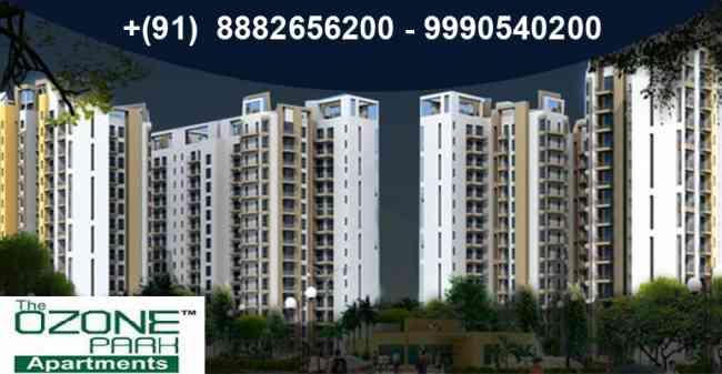 3 bhk flats in Ozone park faridabad
