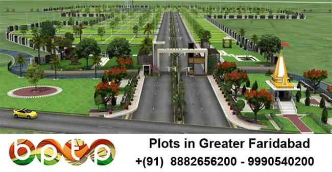 huda & BPTP plots in Faridabad