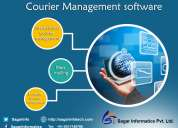 Courier management software