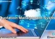 Quotation management software