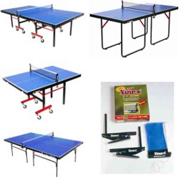 Pool Table, Table Tennis Table and Accessories