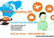 Integrate api for bus & flight booking online