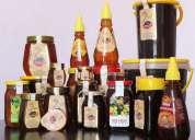 100 % pure and natural honey