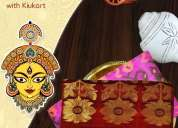 Redefining ethnicity with the best durga puja collection of kiukart