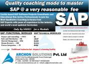 Sap course  in ernakulam by experts