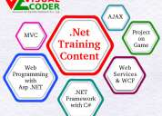 Best dot net training with 100% placement assistance/gaurantee