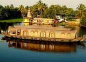 Find 45% discount on backwater tour kerala package