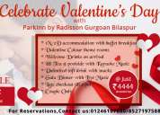 Hurry up !! valentines day offers in gurgaon just @ inr 4,444/-