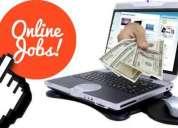 Home Based Computer Typing job / Home Based Data E