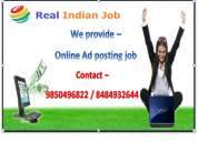 Copy paste work-online jobs,wanted home based internet job worker. are you search same contact me.