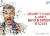 Creativity rules business || creative advertising agency