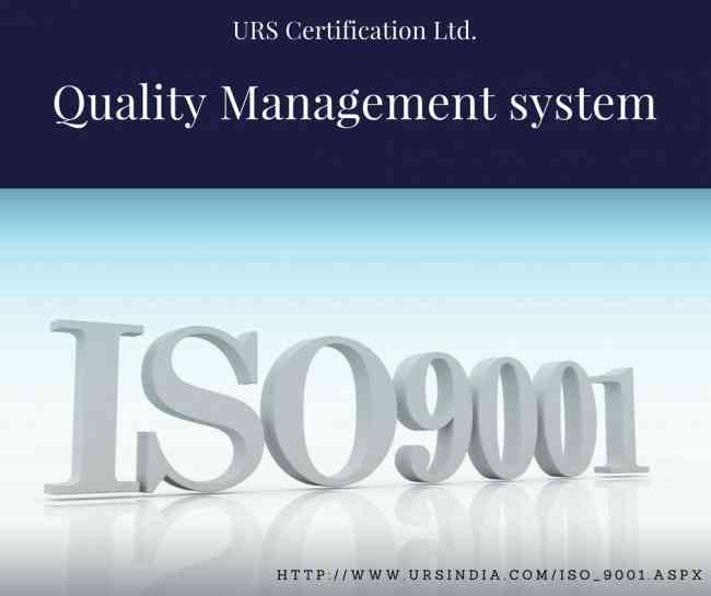ISO 9001 International Quality Certification