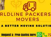 Worldline packers and movers services
