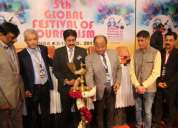 5th global festival of journalism noida inaugurated