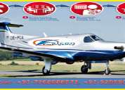 Reliable and affordable cost for air ambulance in patna by falcon emergency