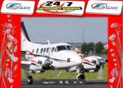 Now falcon emergency air ambulance in guwahati at low cost
