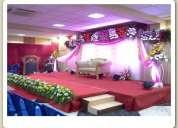 Om sakthi karpagambal-9962142201banquet halls in chennai