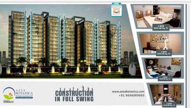 Buy 3 & 4 BHK Luxury Apartments in Vrindavan Yojna, Lucknow
