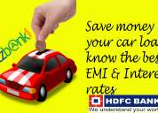 Get to know hdfc bank car loan at lowest roi at letzbank