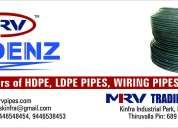 Hdpe pipe & ldpe pipe in the range from 20mm to 110 mm