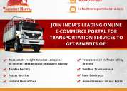 Truck transporters india - online truck booking
