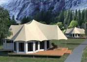 Leading resort tents manufacturer and supplier in india