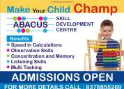 Abcus classes for children 5 to 15