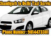 Chandigarh to manali taxi service