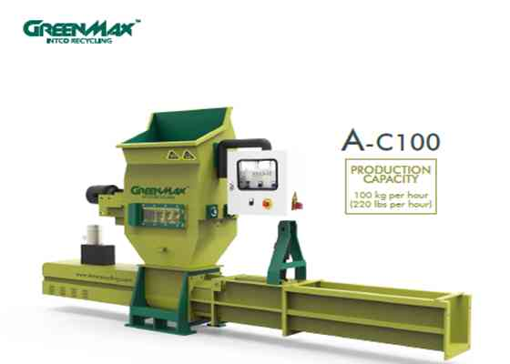 Styrofoam compactors/densifiers of GREENMAX APOLO Series