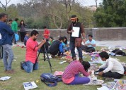 Photography summer camp in pitampura at raghuvansham school of modern art